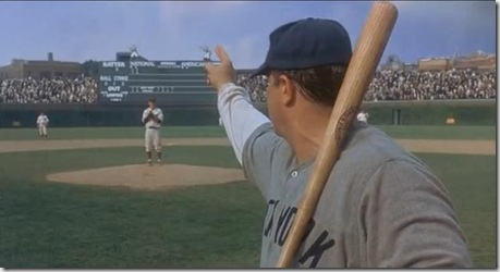 It's not that he pointed. It's that he delivered on the promise ... Babe Ruth Yankees