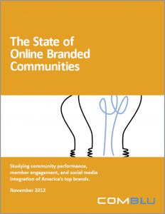 State of Online Branded Communities 2012