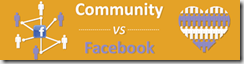 Community vs facebook