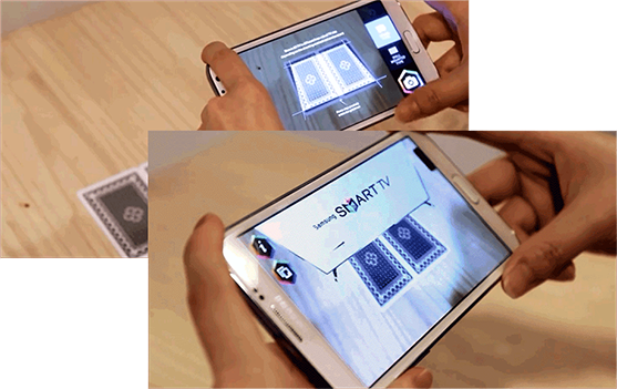 Samsung Augmented Reality