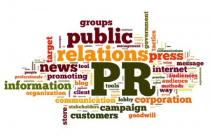 public-relations word cloud